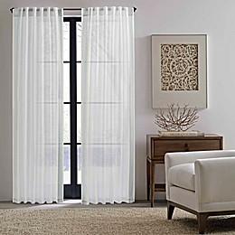 ED Ellen DeGeneres™ 2-Pack 84-Inch Woven Stripe Rod Pocket Window Curtain