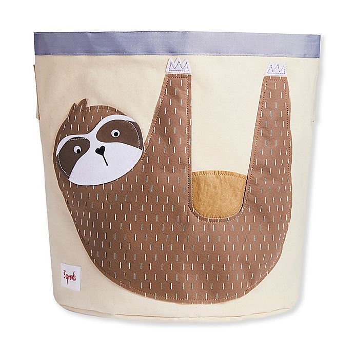 Alternate image 1 for 3 Sprouts Sloth Storage Bin