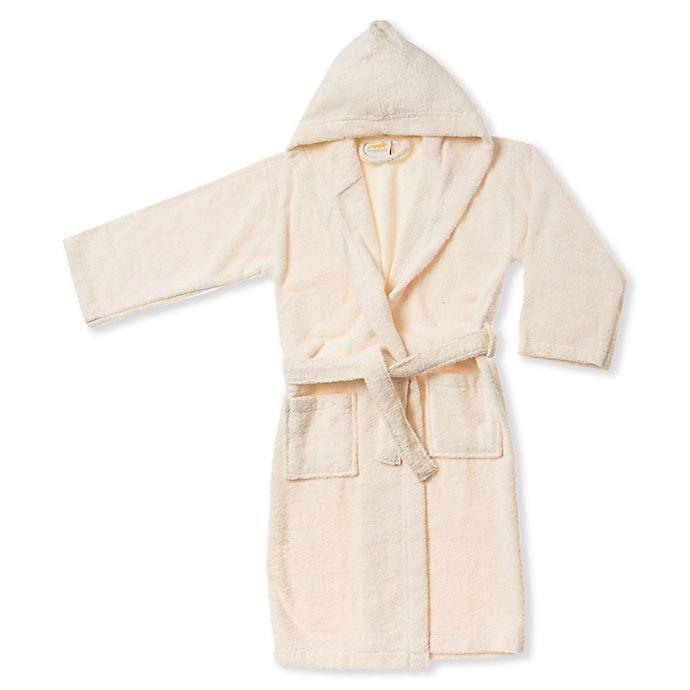 Alternate image 1 for Kids Cotton Hooded Bathrobe
