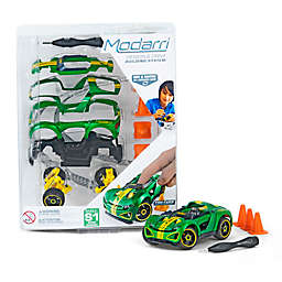 S1 Super Charger 15-Piece Toy Car Set in Green