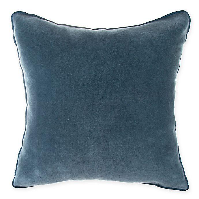 Alternate image 1 for O&O by Olivia & Oliver™ Velvet Square Throw Pillow