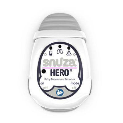 Snuza Hero Baby Movement Monitor in Grey