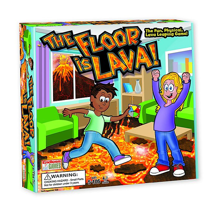 Alternate image 1 for Endless Games® The Floor is Lava™ Game
