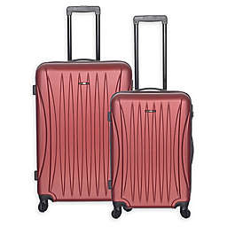 Club Rochelier Hardside Spinner Checked Luggage