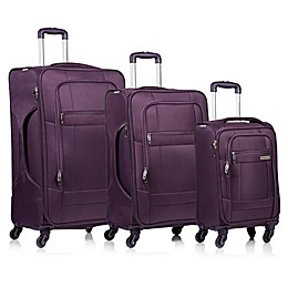 CHAMPS Pacific 3-Piece Softside Spinner Luggage Set