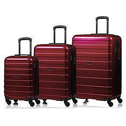 Champs Ice 3-Piece Hard Side Expandable Luggage Set
