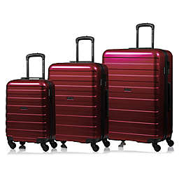 Champs Ice 3-Piece Hard Side Expandable Luggage Set