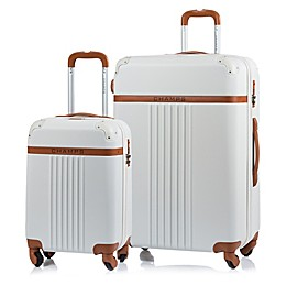 CHAMPS Vintage 2-Piece Hardside Expandable Spinner Luggage Set