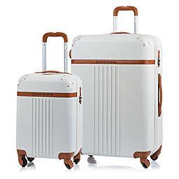 CHAMPS Vintage 2-Piece Hardside Expandable Spinner Luggage Set
