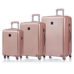 CHAMPS Iconic 3-Piece Hardside Expandable Spinner Luggage Set