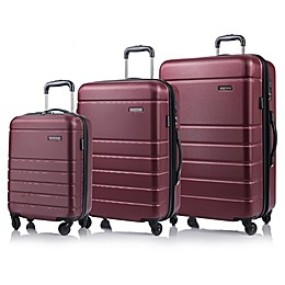 CHAMPS Journey 3-Piece Hardside Expandable Spinner Luggage Set