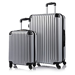 CHAMPS Tourist 2-Piece Hardside Expandable Spinner Luggage Set