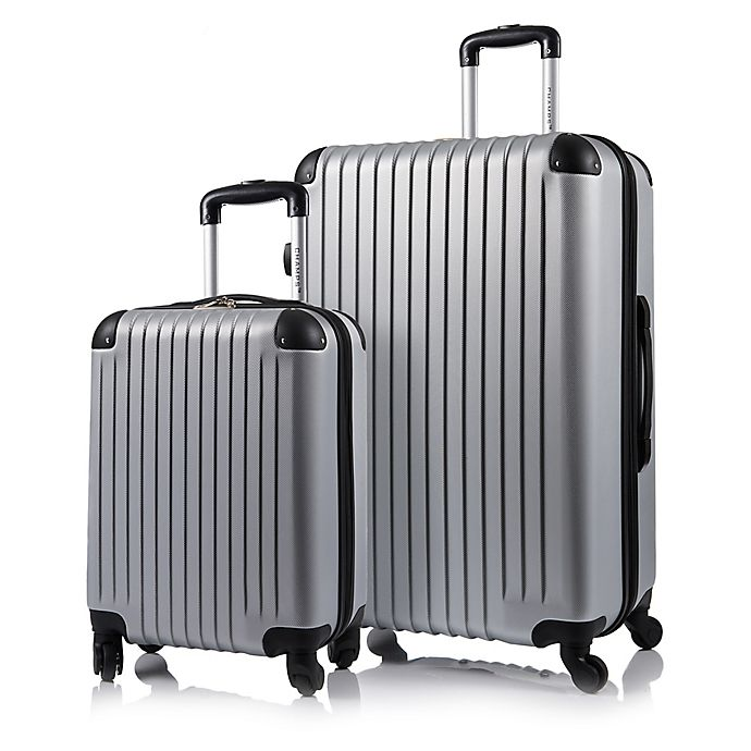 Alternate image 1 for CHAMPS Tourist 2-Piece Hardside Expandable Spinner Luggage Set