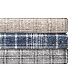 Morgan Home Ultra Plush Fleece Plaid Sheet Set