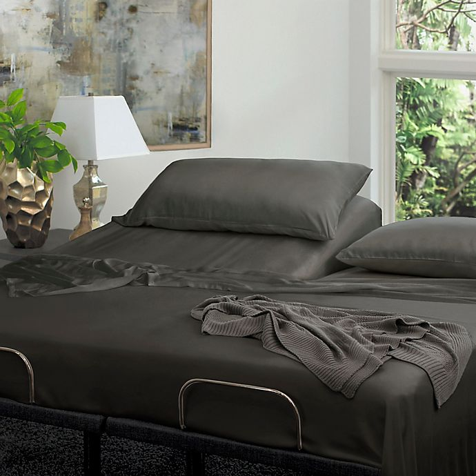 Alternate image 1 for Cariloha® Resort Viscose Made From Bamboo 400-Thread-Count Sheet Set