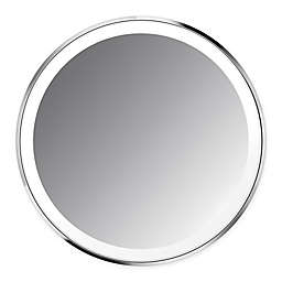 simplehuman® Sensor Mirror Compact in Brushed Stainless Steel