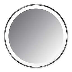 simplehuman® Sensor Mirror Compact in Black/Stainless Steel