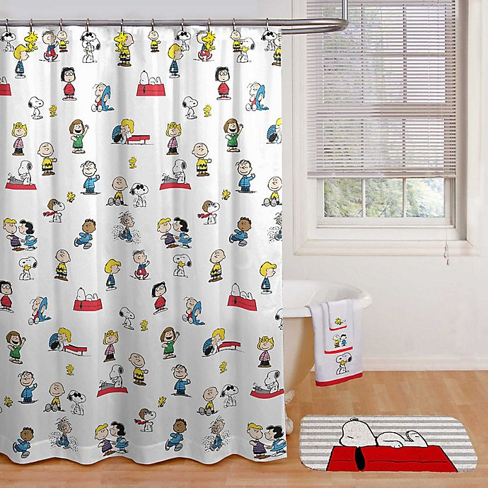 Alternate image 1 for Peanuts™ Shower Curtain