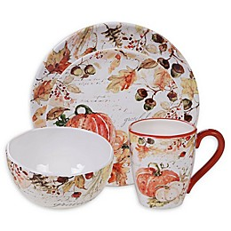 Certified International Harvest Splash Dinnerware Collection