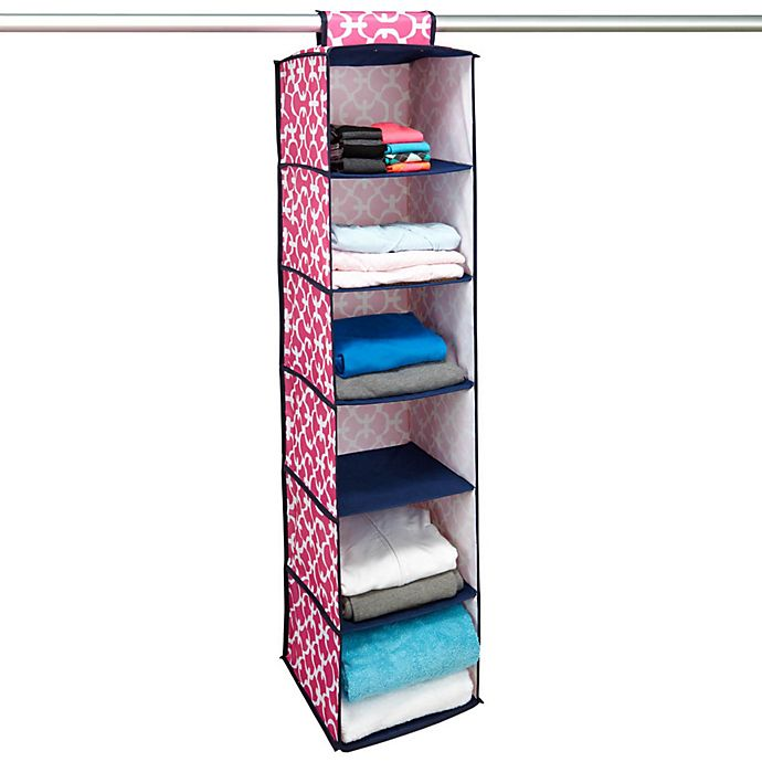 buy the macbeth collection 6 shelf hanging closet 85763
