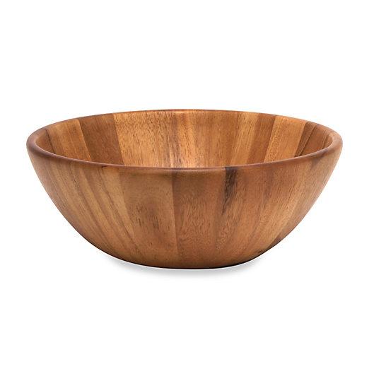 Alternate image 1 for Lipper International Acacia Wood Flair Serving Bowl