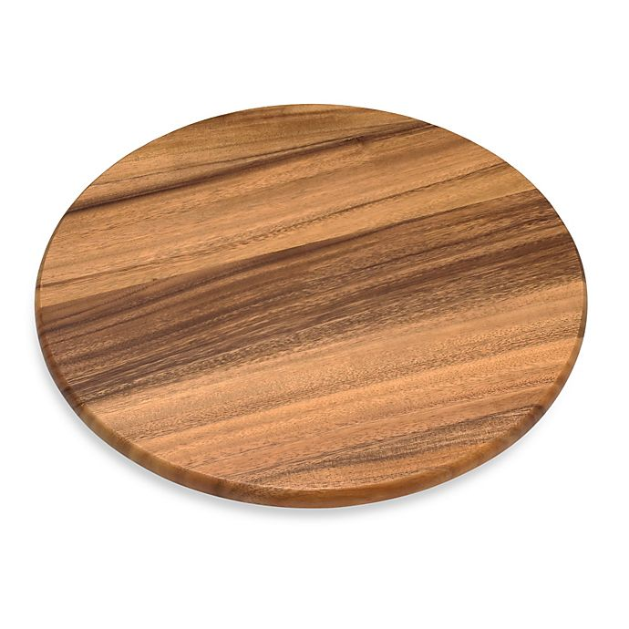 Alternate image 1 for Acacia 16-Inch Wood Lazy Susan