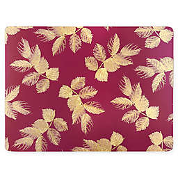 Pimpernel Etched Leaves Placemats (Set of 4)