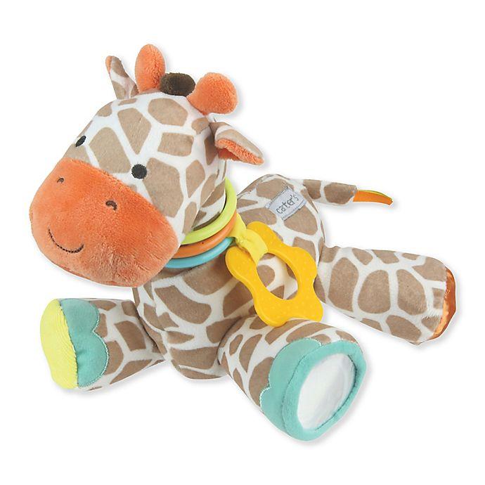 Alternate image 1 for carter's® Developmental Giraffe Plush Toy