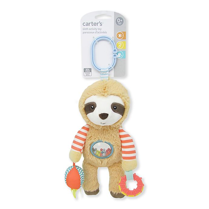 Alternate image 1 for carter's® Sloth Activity Toy