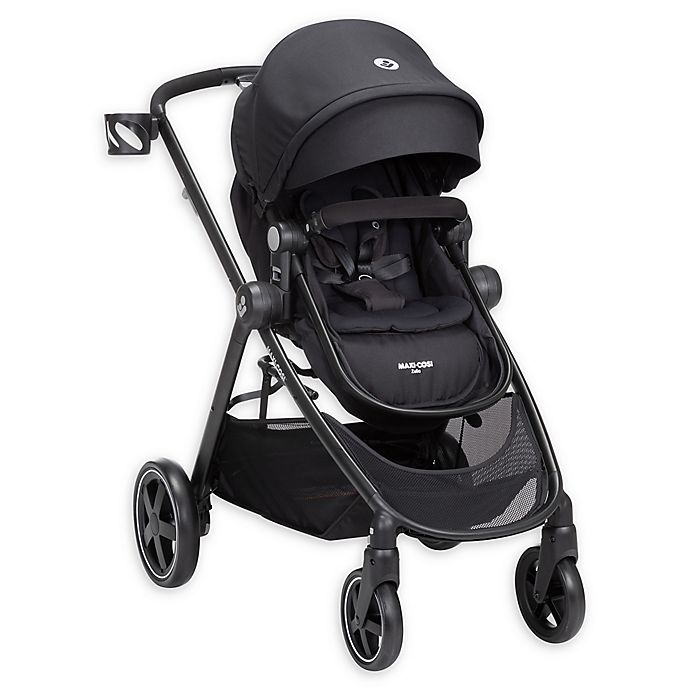 Alternate image 1 for Maxi-Cosi® Zelia Modular Single Stroller in Night Black