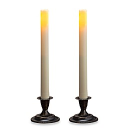 Candle Impressions® 2-Pack Flameless Taper Candles