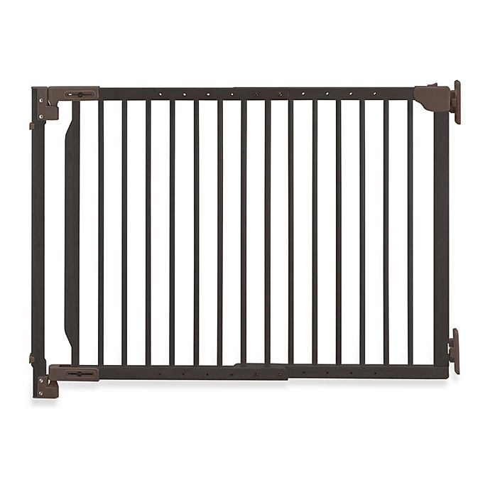 Richell S 174 Expandable Walk Thru Pet Gate Bed Bath And