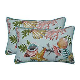 Pillow Perfect Oblong Throw Pillows (Set of 2)