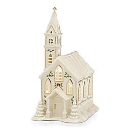 Lenox® Village Church Lit Figurine in Ivory