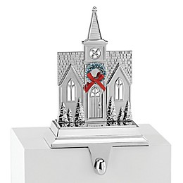 Lenox® Church Stocking Hanger in Silver