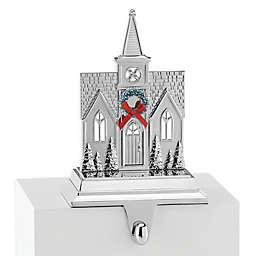 Lenox® Church Stocking Hanger in Silver