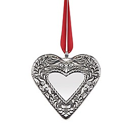 Reed & Barton 2nd Edition Annual Heart Christmas Ornament