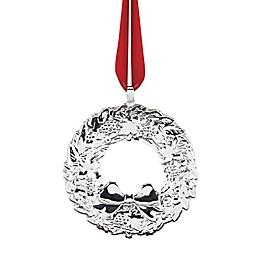 Reed & Barton 22th Edition Wreath Christmas Ornament
