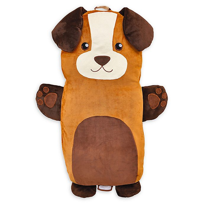 Alternate image 1 for Soft Landing™ Luxe Lounger Dog Pillow in Brown