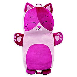 Soft Landing™ Luxe Lounger Cat Character Cushion in Pink