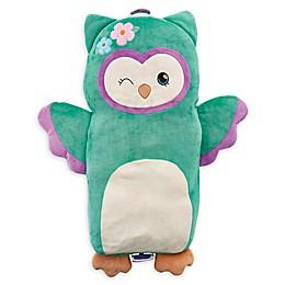 Soft Landing™ Luxe Lounger Owl Pillow in Green