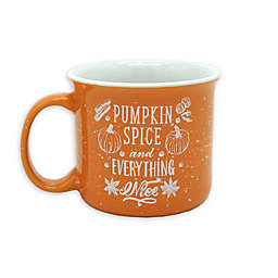 Pumpkin Spice Camp Mug in Orange