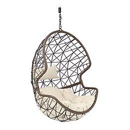 Sunnydaze Decor Danielle Hanging Egg Chair