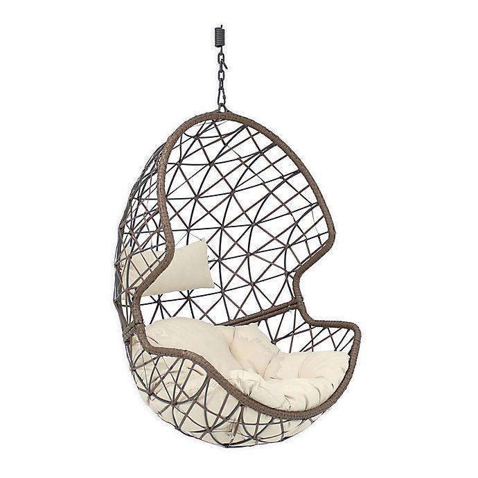 Alternate image 1 for Sunnydaze Decor Danielle Hanging Egg Chair