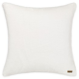 UGG™ Polar Fur European Pillow Sham in Snow