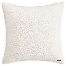 UGG™ Sherpa European Pillow Sham in Snow