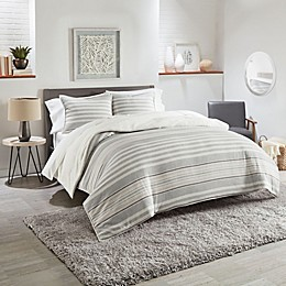 UGG® Eclipse Stripe Reversible Comforter Set
