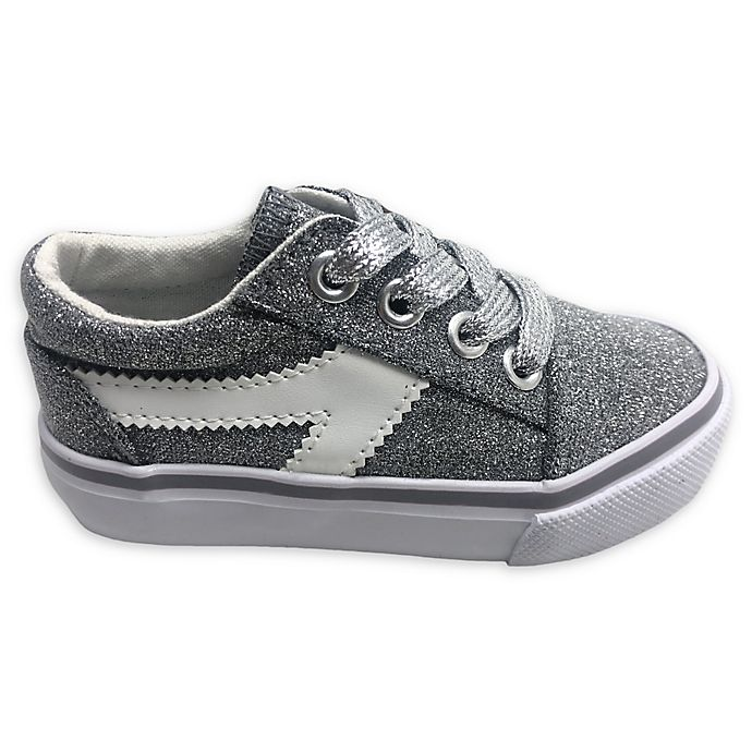 Alternate image 1 for Glitter Casual Shoe in Grey