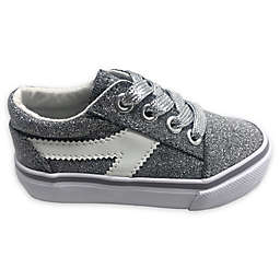 Glitter Casual Shoe in Grey