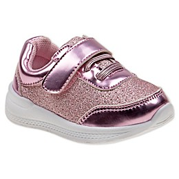 Laura Ashley® Glitter Sneaker in Pink